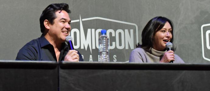 Shannen Doherty & Dean Cain – Beverly Hills – Comic Con Paris 2018