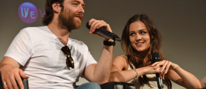 Panel Richard Rankin & Sophie Skelton - The Land Con 2 - Outlander