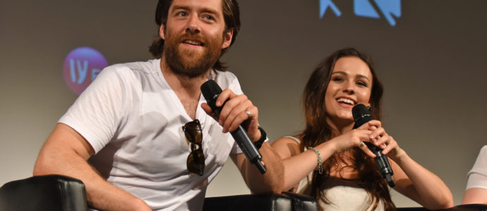 Panel Richard Rankin & Sophie Skelton - The Land Con 2 - Outlander