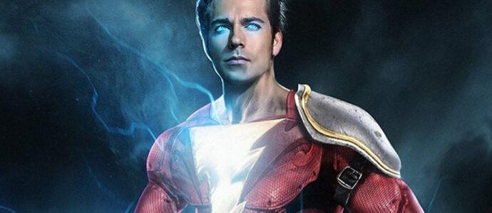 Zachary Levi enfile le costume de Shazam! pour DC