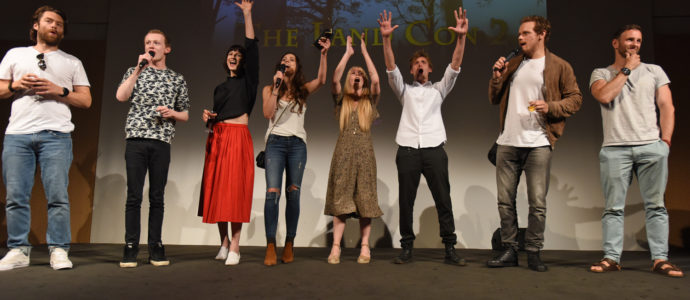 The Land Con 3 : The cast of Outlander will be back in Paris