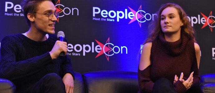 Benedict Clarke & Ellie Darcey-Alden - Welcome to The Magic School 5 - Harry Potter Convention