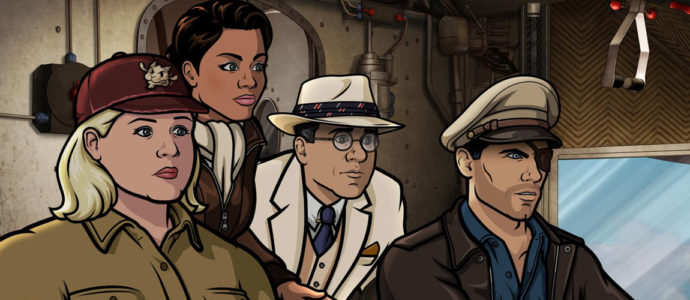 Season 9 of Archer : Sterling will go back to work in April