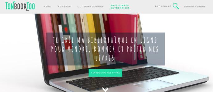 Tonbooktoo : le site pour vendre et échanger ses livres
