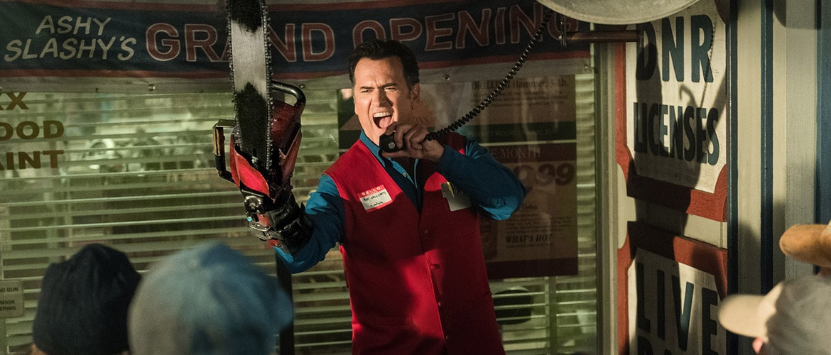 Ash VS. Evil Dead will end after season 3