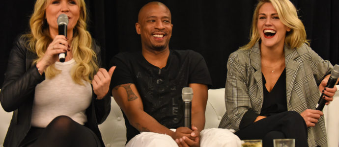 Panel Antwon Tanner, Barbara Alyn Woods & Bevin Prince - Convention One Tree Hill - 1, 2, 3 Ravens