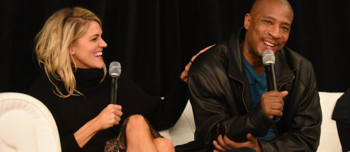 Panel Bevin Prince & Antwon Tanner - Convention One Tree Hill - 1, 2, 3 Ravens