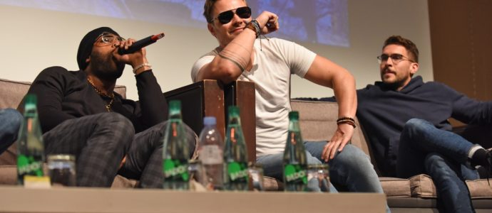Panel Chicago PD - Patrick John Flueger, Jesse Lee Soffer, Josh Segarra, LaRoyce Hawkins, Tracy Spiridakos - Don't Mess With Chicago 3