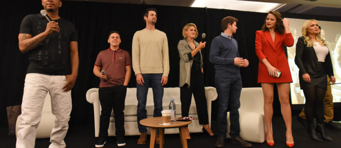 Cast One Tree Hill - 1, 2, 3 Ravens Convention