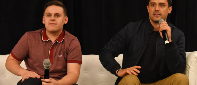 Q&A Jackson Brundage & Stephen Colletti - Convention 1, 2, 3 Ravens - One Tree Hill