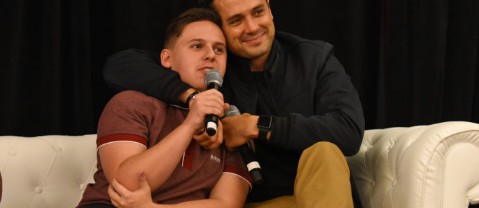 Jackson Brundage & Stephen Colletti - One Tree Hill - Convention 1, 2, 3 Ravens