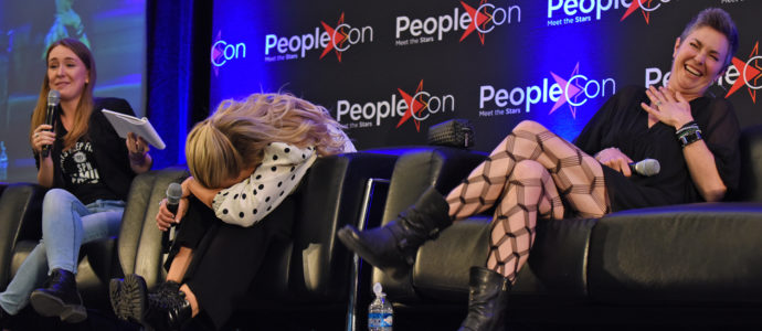 Panel Briana Buckmaster & Kim Rhodes - Supernatural - DarkLight Con 3