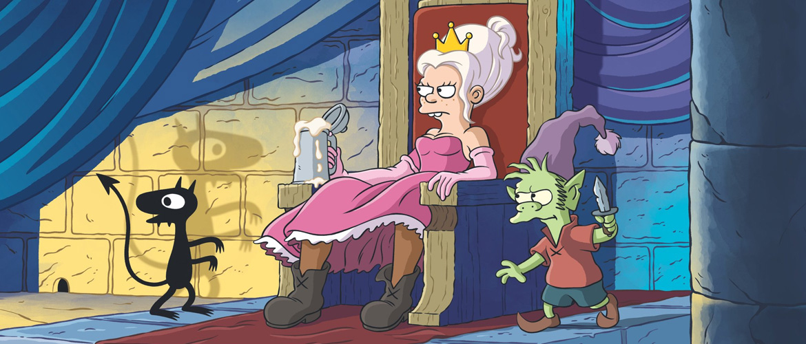 Disenchantment : Netflix released the air date for Matt Groening's new show