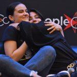 Q&A Lodge - Marisol Nichols & Camila Mendes - Riverdale - Rivercon2