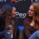 Panel Choni - Madelaine Petsch & Vanessa Morgan - Riverdale - Rivercon 2