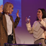 Panel Adelaide Kane & Rachel Skarsten – Reign – Long May She Reign