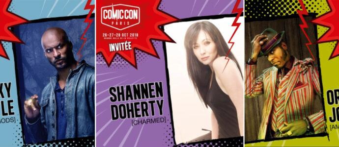 Comic Con Paris 2018 : Shannen Doherty et deux acteurs d'American Gods seront présents