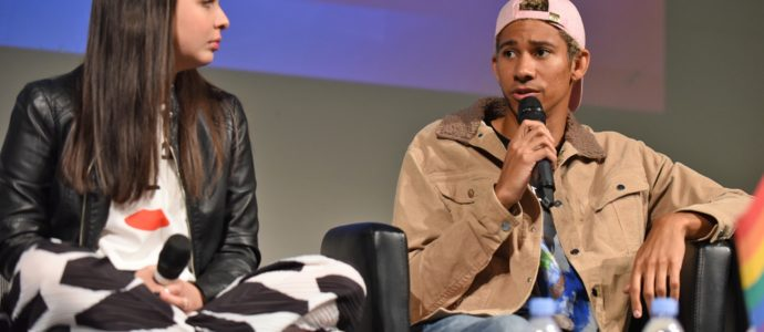 Panel Isabella Gomez & Keiynan Lonsdale - Our Stripes Are Beautiful - One Day At A Time, The Flash