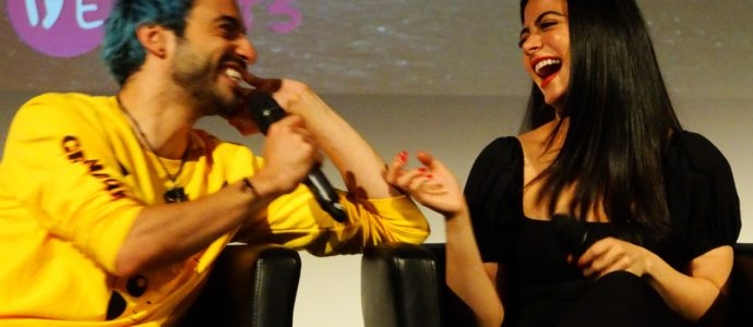 Q&A David Castro, Jade Hassouné & Emeraude Toubia - Shadowhunters - The hunters of Shadow 3