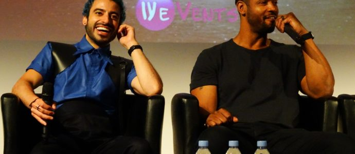 Panel Jade Hassouné & Isaiah Mustafa - Shadowhunters - The hunters of Shadow 3