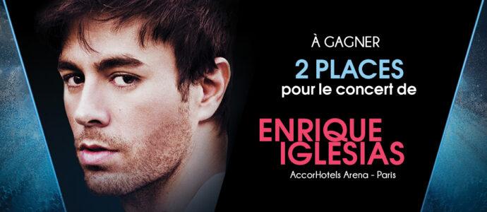A gagner : 2 places pour le concert d'Enrique Iglesias à Paris !