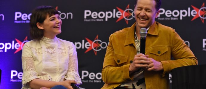 Ginnifer Goodwin et Josh Dallas plus que charmants durant la convention Once Upon A Time