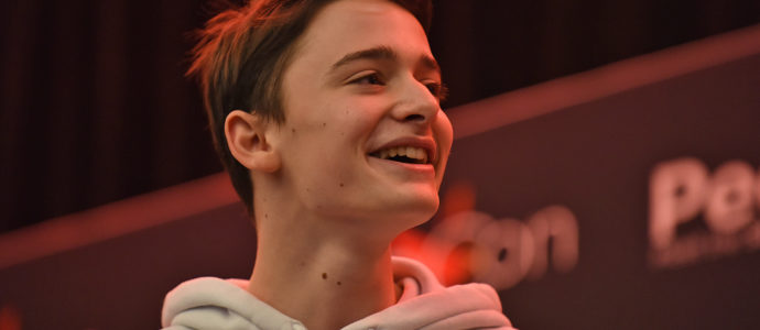 Noah Schnapp - Fan-meet Stranger Things - Paris