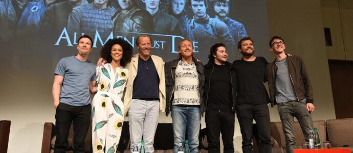 La photo de groupe sur scène