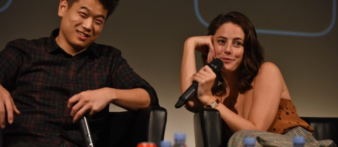 Panel Kaya Scodelario & Ki Hong Lee - The Maze Runner - Wicked is Good