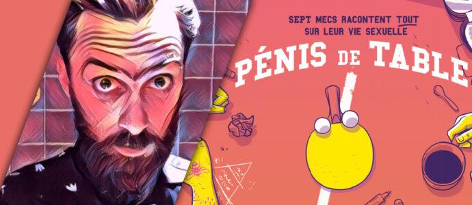 « Pénis de table » : la BD qui aborde la sexualité masculine sans tabou