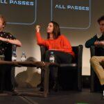 Panel The Maze Runner - Joe Adler, Kaya Scodelario & Blake Cooper - Wicked is Good