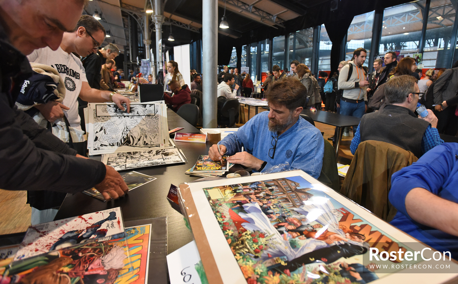 Andy Kubert - Comic Con Paris 2018