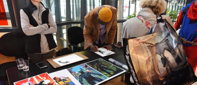 Brian Stelfreeze - Comic Con Paris 2018