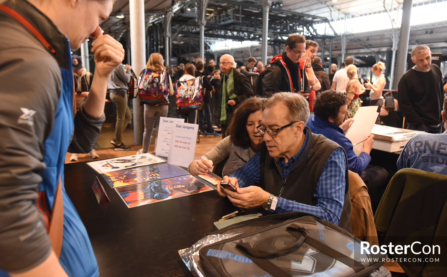 Dan Jurgens - Comic Con Paris 2018