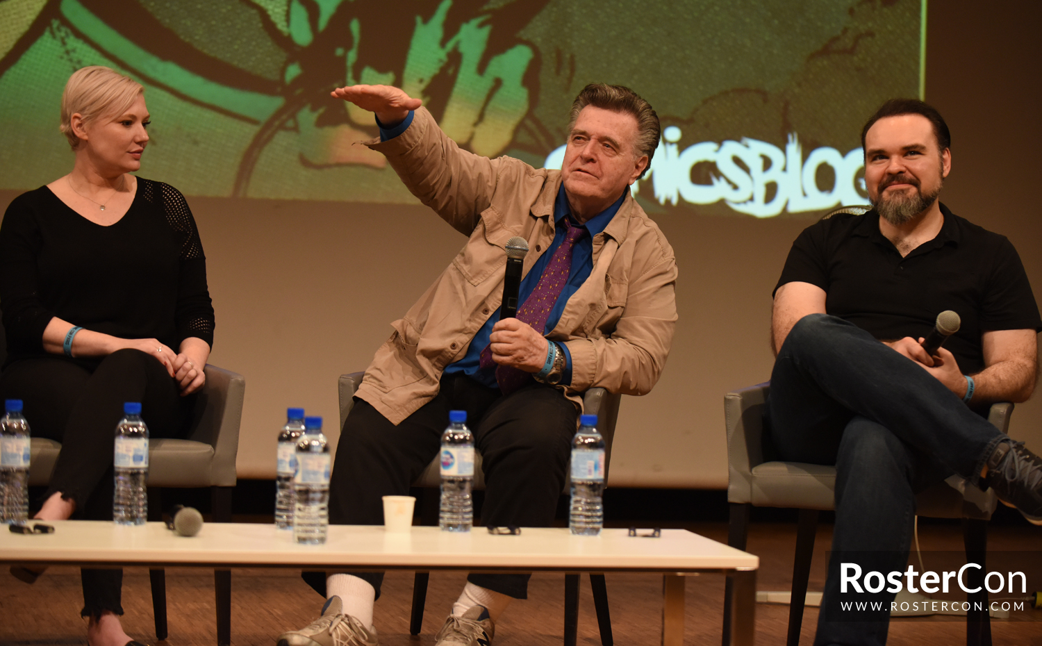 Neal Adams, Joëlle Jones et Freddie Williams II - Comic Con Paris 2018