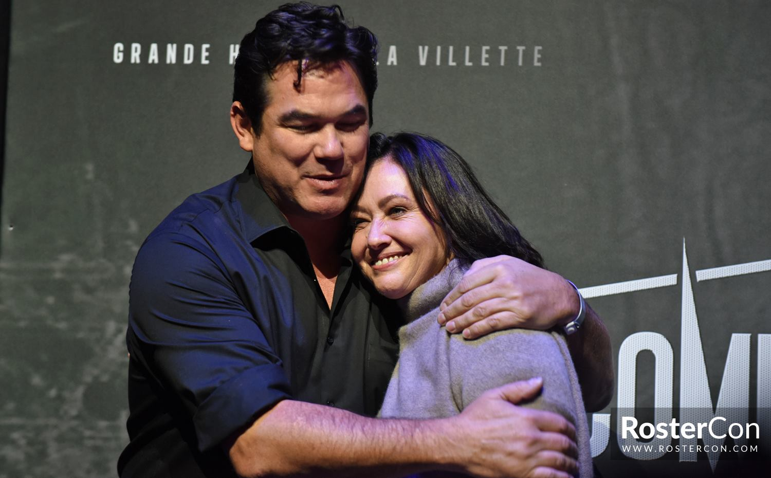 Beverly Hills : Dean Cain and Shannen Doherty reunited at Comic Con Paris 2018