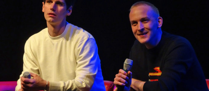 Gotham - Cory Michael Smith & Robin Lord Taylor - Paris Manga & Sci-Fi Show 27