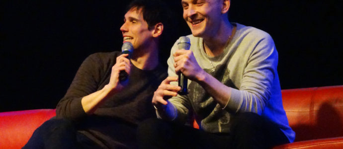 Panel Gotham – Robin Lord Taylor & Cory Michael Smith – Paris Manga & Sci-Fi Show 27