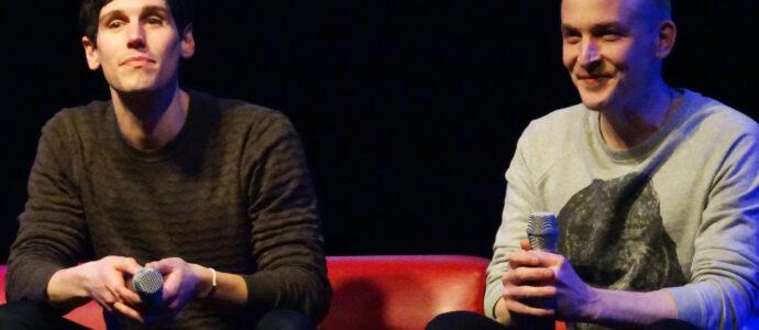 Panel Gotham - Robin Lord Taylor & Cory Michael Smith - Paris Manga & Sci-Fi Show 27