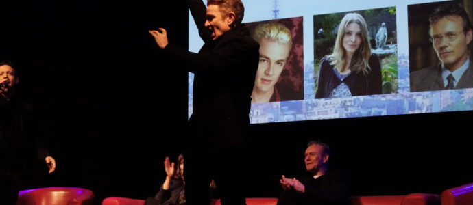 Q&A Amber Benson, Anthony S. Head, James Marsters - Buffy - Paris Manga & Sci-Fi Show