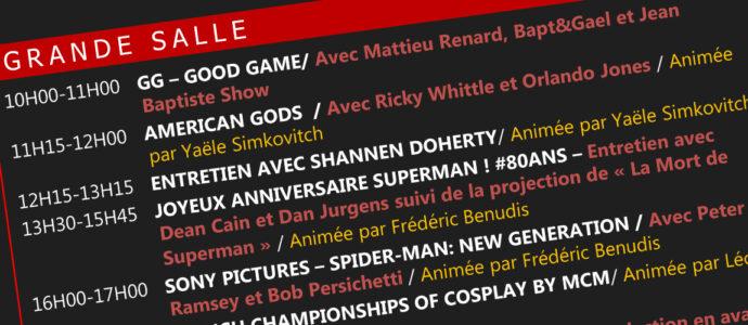 Le programme du Comic Con Paris 2018