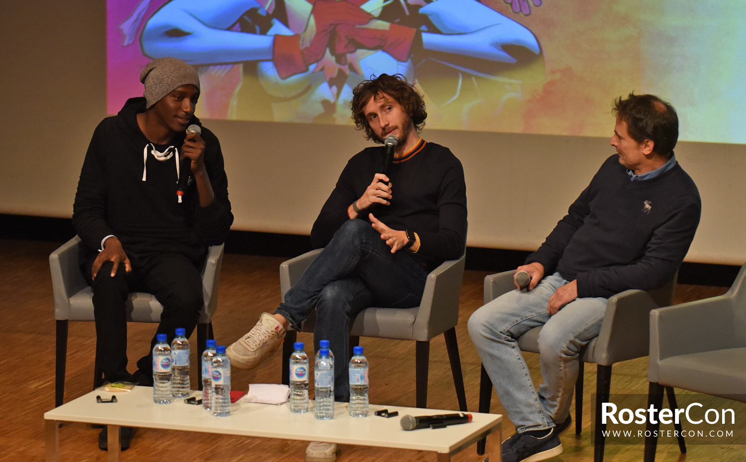 Baptiste Lecaplain & William Coryn - Comic Con Paris 2018