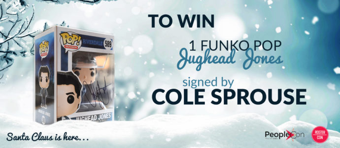 Win a Funko Pop signed by Cole Sprouse