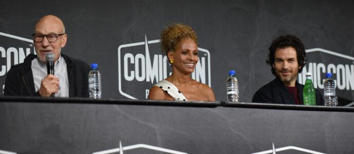 Sir Patrick Stewart, Michelle Hurd & Santiago Cabrera - Star Trek: Picard - Comic Con Paris 2019