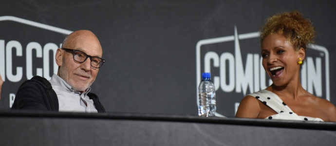 Sir Patrick Stewart & Michelle Hurd - Star Trek: Picard - Comic Con Paris 2019