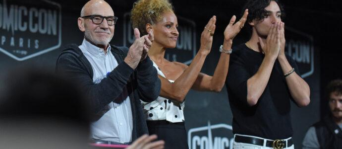 Sir Patrick Stewart, Michelle Hurd & Evan Evagora - Star Trek: Picard - Comic Con Paris 2019