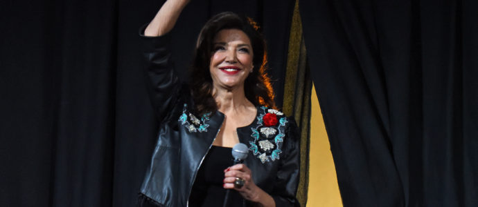 Shohreh Aghdashloo, Steven Strait & Dominique Tipper - The Expanse - Comic Con Paris 2019