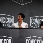 Shohreh Aghdashloo, Steven Strait & Dominique Tipper - The Expanse - Comic Con Paris 2019