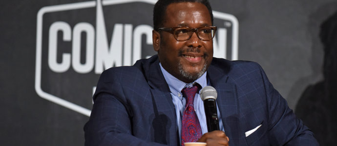 Wendell Pierce - Jack Ryan, The Wire - Comic Con Paris 2019