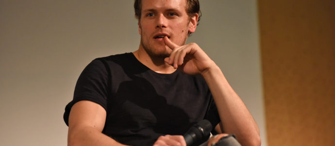 Panel Caitriona Balfe & Sam Heughan - The Land Con 3 - Outlander